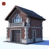 Two-storey garage