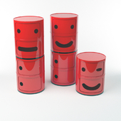 "Kartell Chests ""Componibili Smile"""