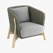 ROUND Club armchair by point 1920