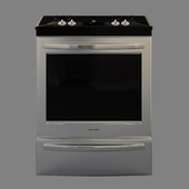 Frigidaire Gallery 30 '' Slide-In Dual-Fuel Range