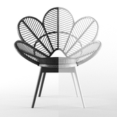 The Family Love Tree Love Chair Black / White