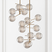 Ochre at MaisonGallotti & Radice Bolle Pendant Light by Massimo Castagna