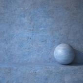 Штукатурка  синяя 16