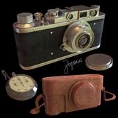 Винтажный фотоаппарат Зоркий