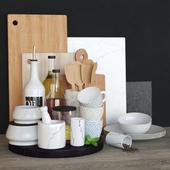 Decorative set for kitchen / Kitchen set