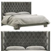 Restoration Hardware Atherton Leather Bed