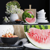 Decorative set for kitchen 2