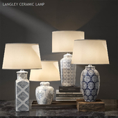 Pottery barn LANGLEY CERAMIC LAMP