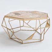 Petrified Wood Tripod Table - Decorpad