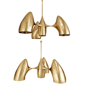 LIST OF PHILIPPE HIQUILY CHANDELIER DESIGNED BY PHILIPPE HIQUILY