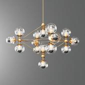 Modern Gold MODO LED Pendant Lamp Suspension