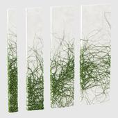 Ivy for rectangular columns. 4 models