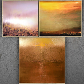 Paintings abstract | set 250