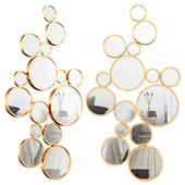 Bubbles Wall Mirror VYQ6540
