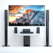 Home Theater Sony BDV-E4100 + TV Sony AF8