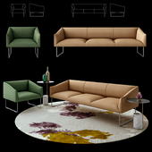 Quinti Sedute Thank Sofa+Armchair  Table Xaxaxa