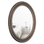 Burnes Oval Wall Mirror DBHC6529