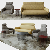 LaCividina Join sofa+armchair