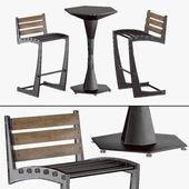 Zen Chair & Geo table