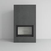 Kratki - Water fireplace MBO PW 15 guillotine