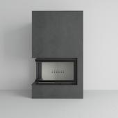 Kratki - Water fireplace MBO PW 15 left BS