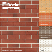 Facade panels from the manufacturer Döcke / Collection BERG