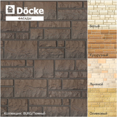 Facade panels from the manufacturer Döcke / Collection BURG