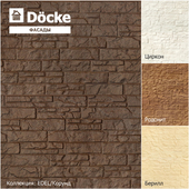 Facade panels from the manufacturer Döcke / Collection EDEL