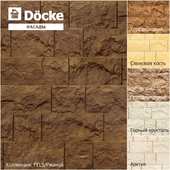 Facade panels from the manufacturer Döcke / Collection FELS