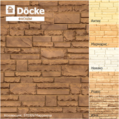 Facade panels from the manufacturer Döcke / Collection STERN