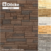 Facade panels from the manufacturer Döcke / Collection STEIN