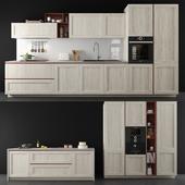 """Kitchen set """"Stosa Cucine City""""."""