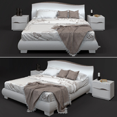 Venere Tomasella bed and bedside tables (for perezalivku)