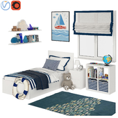 Universal children room Blue