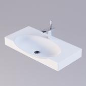 Sanita luxe Infinity 75 washbasin