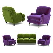 Диван и кресло Lady May