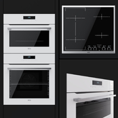 AEG - an oven BCR742350W, a compact oven KMR761000W and a hob IKK64545XB