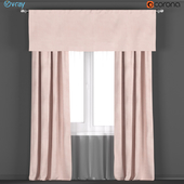 Curtains on the kulisk from RH Restoration hardware in PETAL + tulle.
