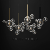 Giopato & Coombes Bolle 24 Bubble 2 Clear/gold