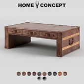 OM Coffee table-chest Slab, Slab Coffee Table