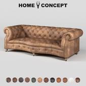 OM Triple sofa Serpentine Bensington, Serpentine Siren 3 Seater