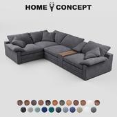 OM Corner modular sofa Alto, Alto Sectional Group
