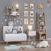 Toys and furniture set 33