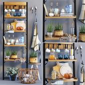 Decorative set_cast stand Fendy high & decor