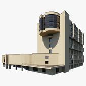 Здание Москва Автозаводская улица, 16с3
