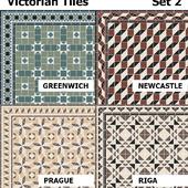 Topcer Victorian Tiles Set2