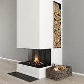 Fireplace and decor 32