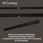 Luminaire DL18781_01M for magnetic busbar trunking