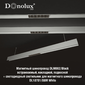 Luminaire DL18781_06M for magnetic busbar trunking