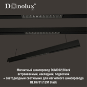 Luminaire DL18781_12M for magnetic busbar trunking